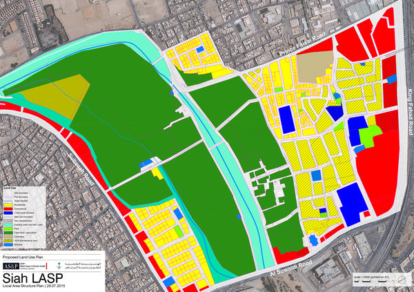 proposed land-use plan