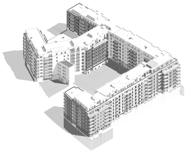 digital building model BIM