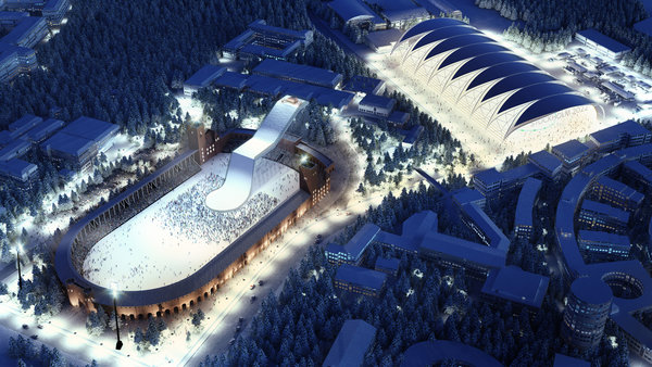 visualization Olympic arena