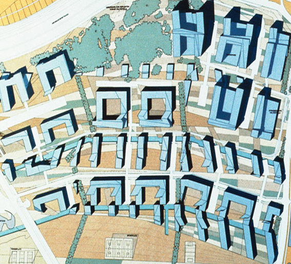urban design by Peter Eisenman