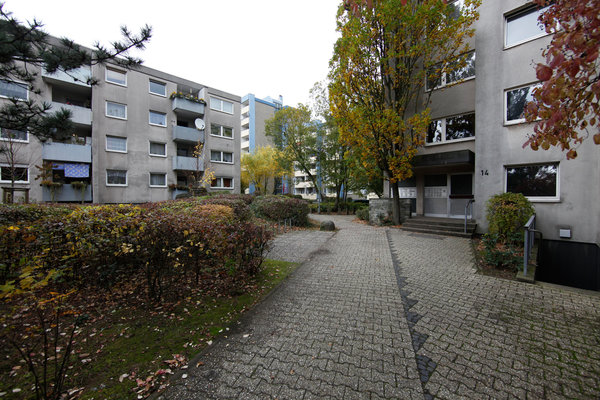 Heinrich Lübke Housing Estate before renovation