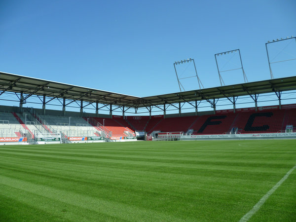 interior space with ground, FC Ingolstadt