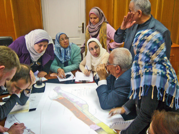 participative planning process in Alexandria