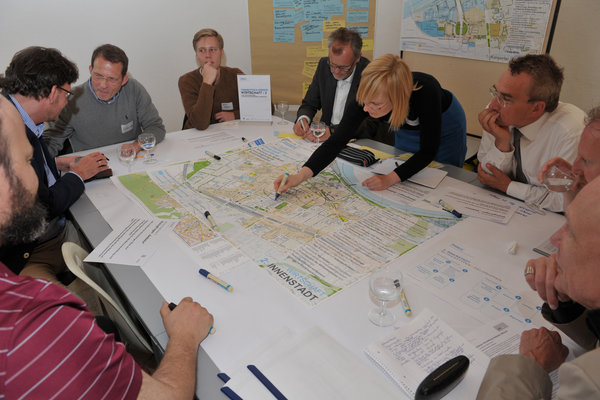working group in the course of the participation process