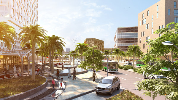 visualization Al Batha Boulevard