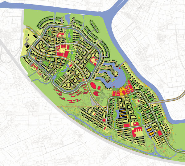 master plan Anting New Town