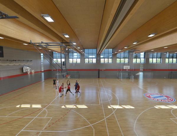 triple-use sports hall